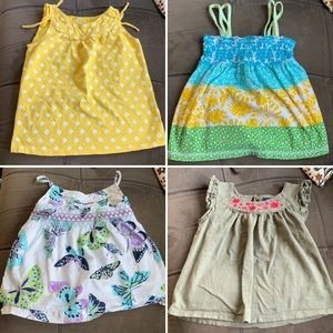 Other - Lot of 4 girls 4T summer tops